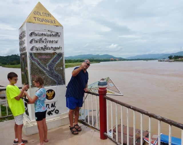 Border Run  - The Golden Triangle Thailand, Myanmar, Laos
