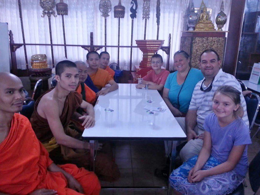 Wagoners Abroad Monk Chat Chiang Mai