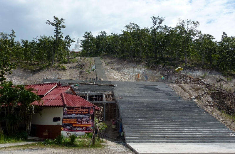 Wat Phra That Mae Yen stairs