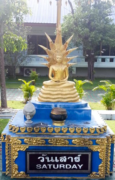 Buddha Statue - Saturday