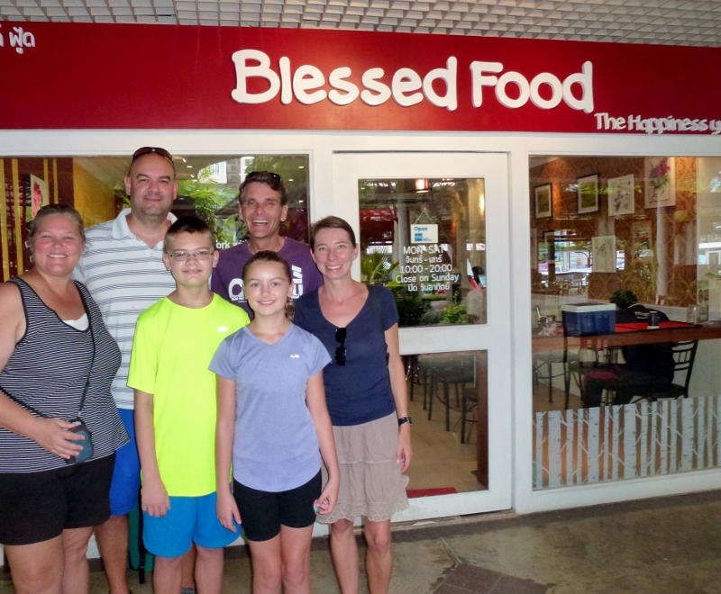 Blessed Food with Swiss Nomads