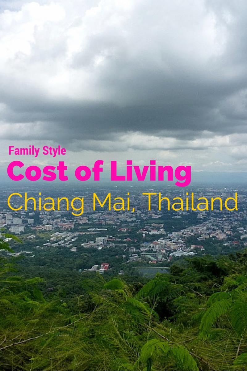 Cost of Living Chiang Mai Thailand