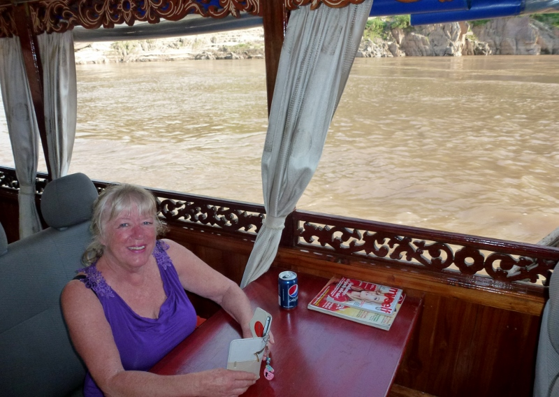 Gma Bev On the Mekong