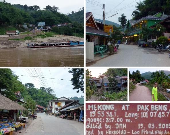 Pak_Beng_Laos - Mekong River