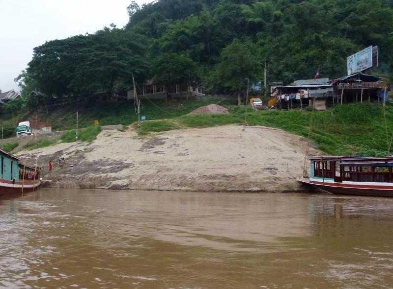 Pakbeng Laos Sand Dune