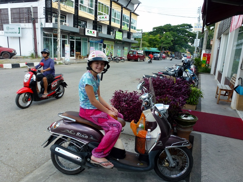 Scootering around Chiang Mai