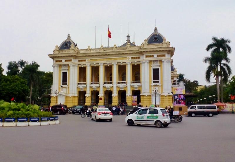 Hanoi Vietnam Opera House French Quarter