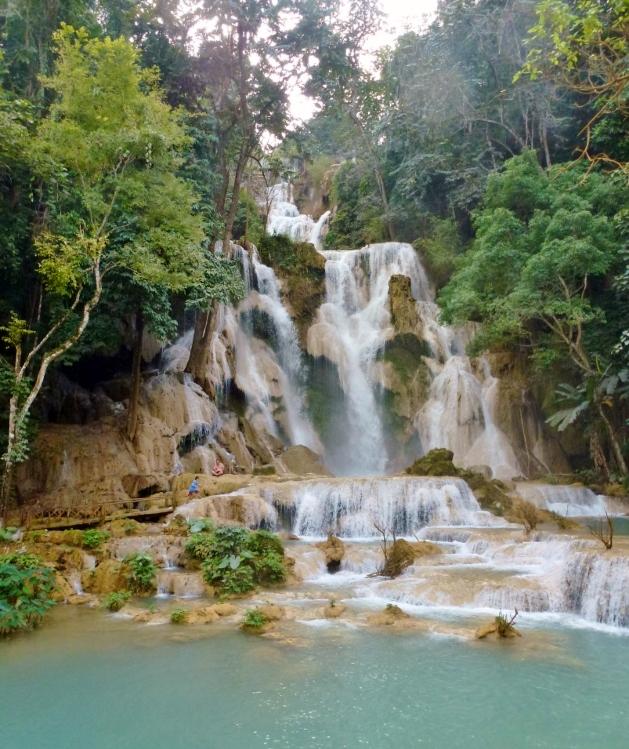 Kuang Si Waterfalls Luang Prabang Laos Wagoners Abroad