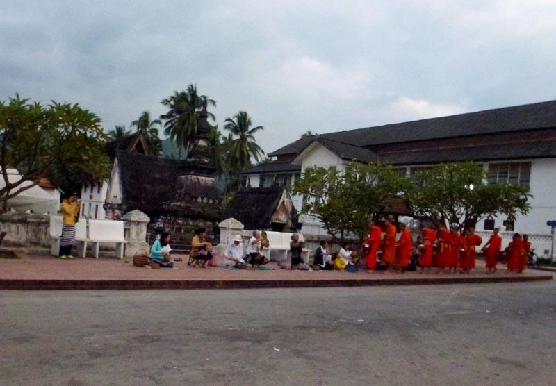 Luang Prabang Morning Almsgiving
