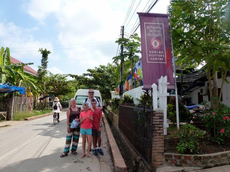 UXO Visitors Center Luang Prabang Laos