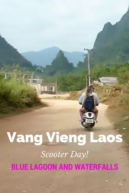 Vang Vieng Scooter Day - Blue Lagoon
