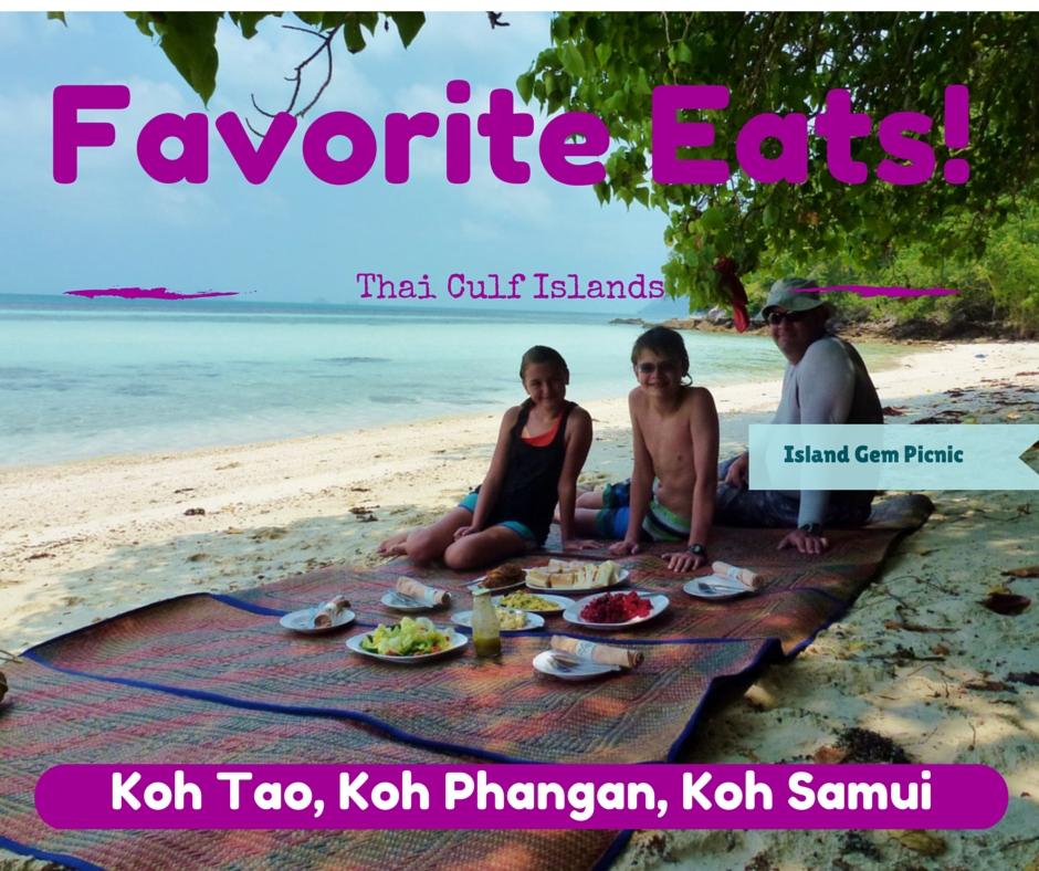 Wagoners Abroad Favorite Eats Thai Gulf Islands - Koh Tao, Koh Phangan, Koh Samui