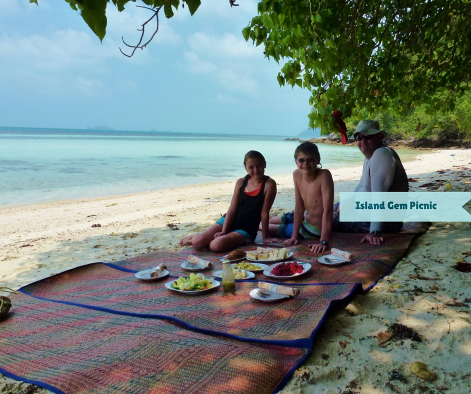 Wagoners Abroad on a private Island Gem Picnic Koh Samui Thailand