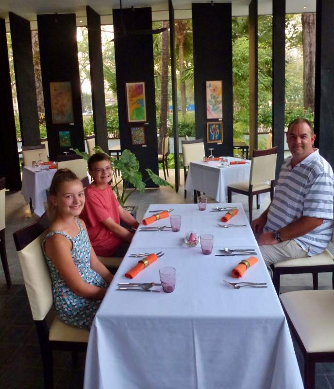 Wagoners Abroad at Palate Angkor Restaurant in Siem Reap Cambodia