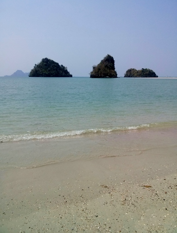 Ao Nang Beach at the end with island (1)