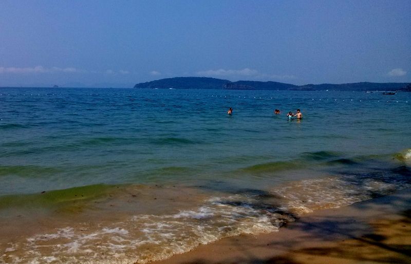 Ao Nang Beach near Krabi Thailand (3)