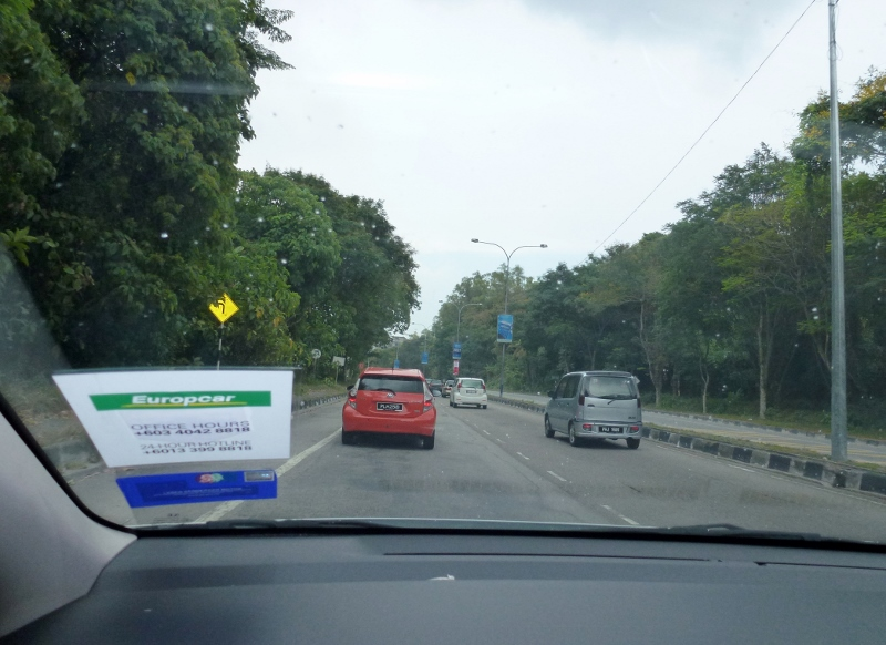 Not too bad driving in Penang