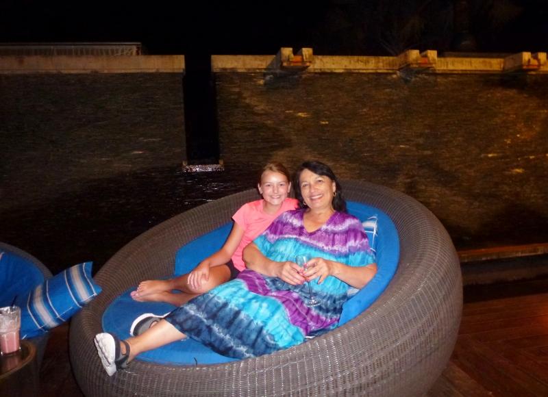 Phuket Thailand Feb 2015 - snuggle time