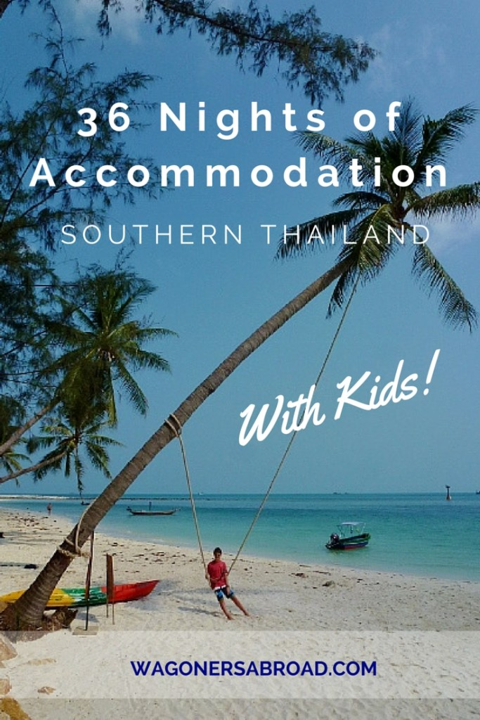 Accommodation Southern Thailand with Kids