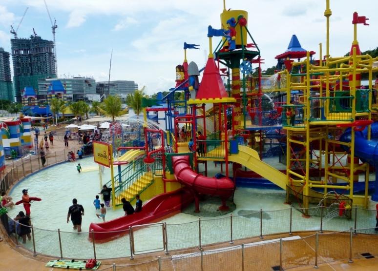 Legoland Water Park Johor Bahru Malaysia Joker Soaker