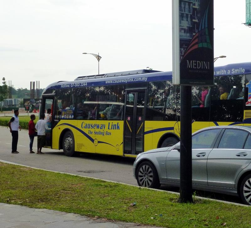 Causeway Link Bus Legoland Malaysia