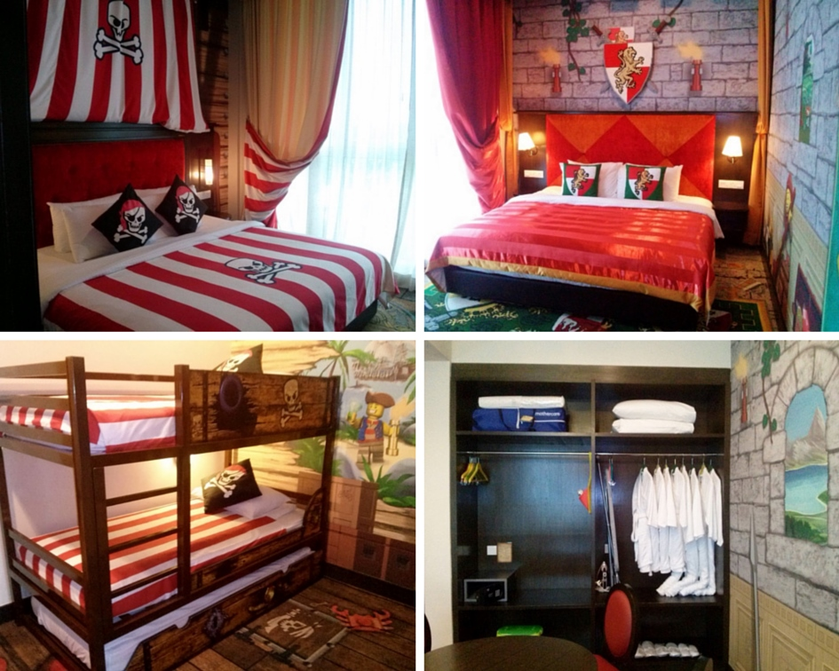 Legoland Hotel and Resort Malaysia themed rooms and suites