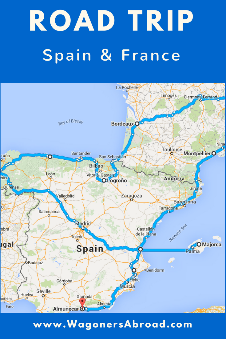 8 week Road Trip Spain and France.  It's time for another European Summer Family Road Trip and this time it was in Spain and France.  Read more on WagonersAbroad.com