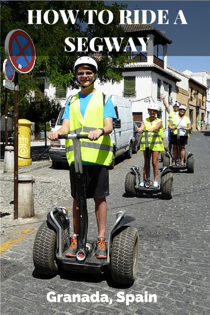 How to ride a segway - Granada Spain