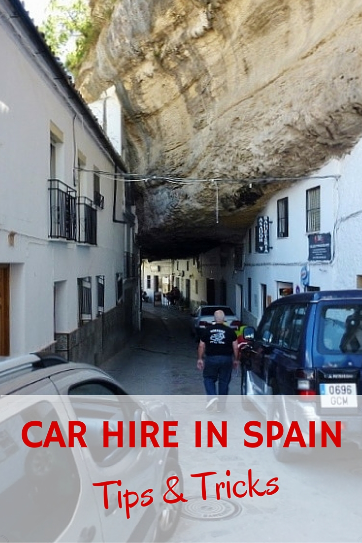 Hiring a writer car in spain