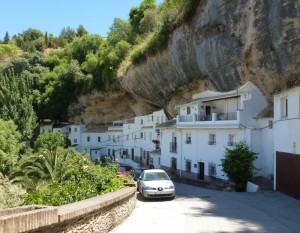 Setenil de las Bodegas, narrow roads in Spain