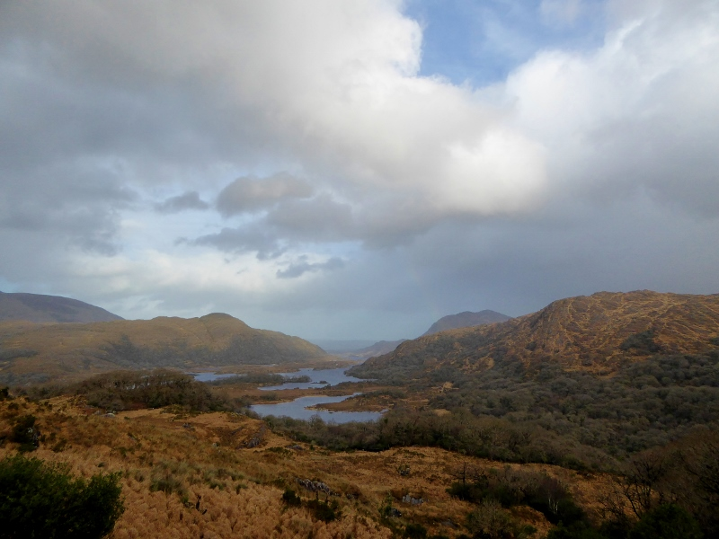 Road from Killarney to Kenmare Ladies View