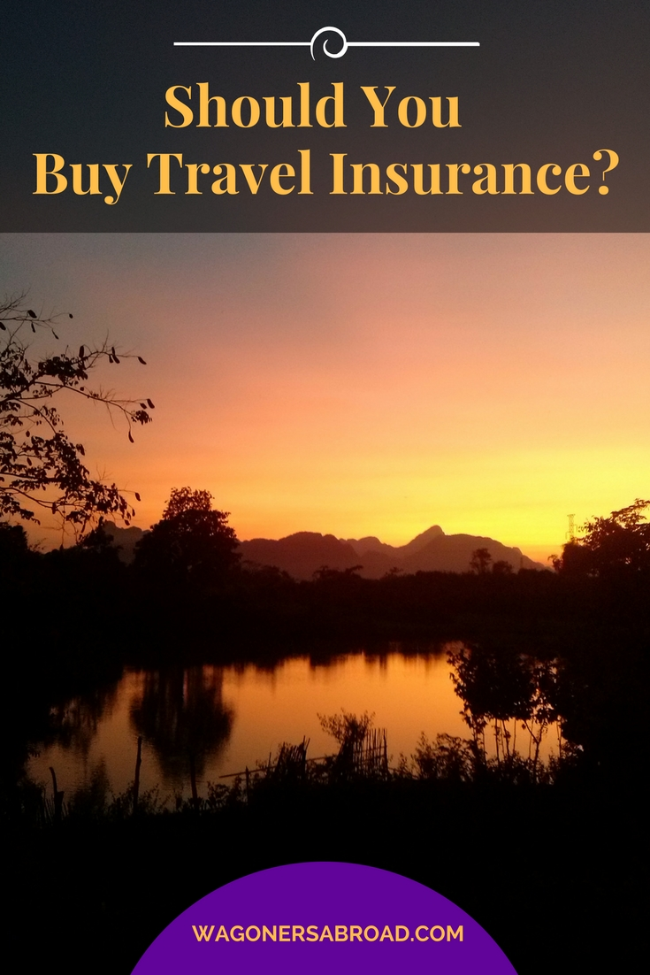 So you are planning a trip for a week or  year and that dreaded question comes up. Should you buy travel insurance?  We provide expert tips & advice for you!  Read more on WagonersAbroad.com