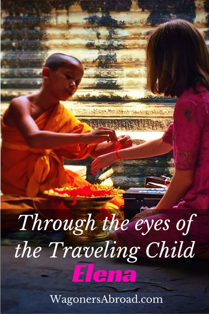 "Elena Orwick - Through the eyes of the traveling Child. We often are asked about what the kids think of their experience as a traveling child and how things are going. Do they have friends, how are they being educated and are they social? We thought these are likely questions for all types of families, so we decided to start a family travel interview series ""Through the Eyes of the Traveling Child"". We don't often get exposed to the opinion of the kids and perhaps think we should. We all know the Wagoner kids are full of their two cents worth and are loving travel. Visit WagonersAbroad.com to read more."