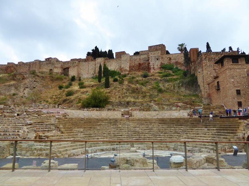 Devour Malaga Food Tour - Roman Theater and Alcazaba