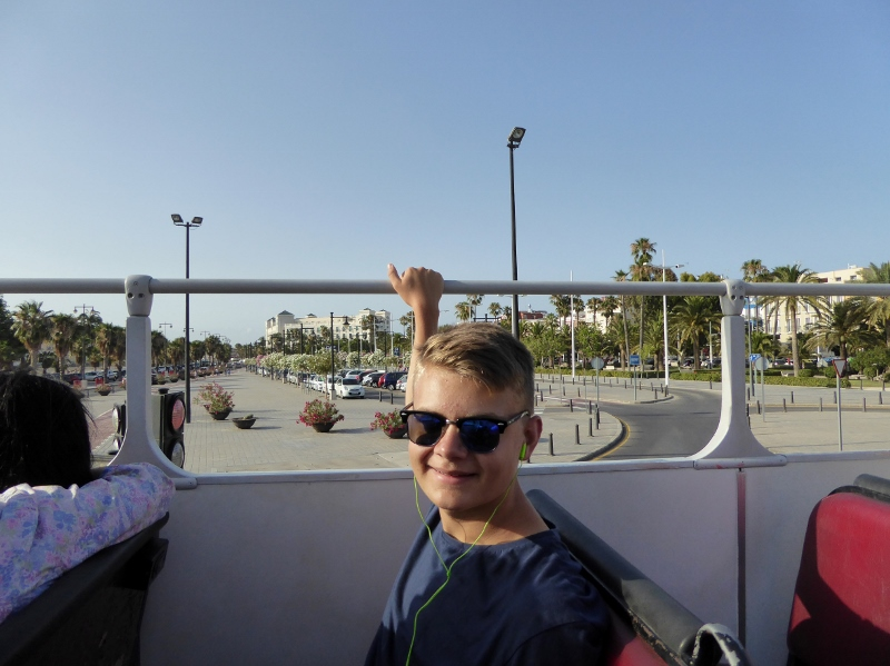 City DiscoveryValencia hop on hop off bus tour Lars