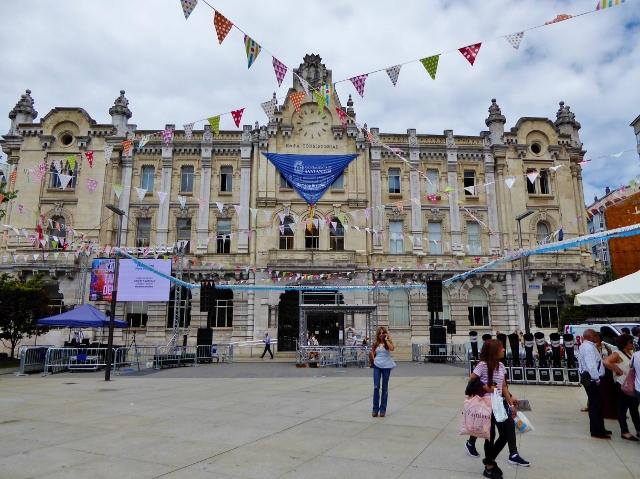 Santander Cantabria Spain Ayuntamiento (town hall)
