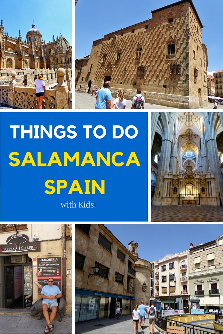 Things to do in Salamanca with Kids. So much history and culture at your fingertips. Read more on WagonersAbroad.com