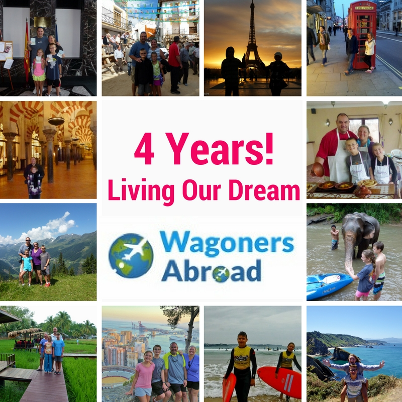 Living the dream 4 yrs of Wagoners Abroad
