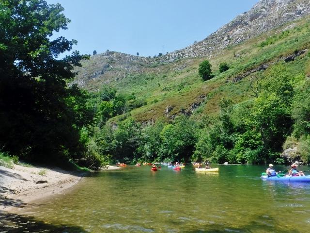 Canoeing Arriondas Visit Asturias Spain Trip4Real