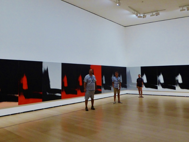 Guggenheim Bilbao Basque Country Spain Andy Warhol exhibit