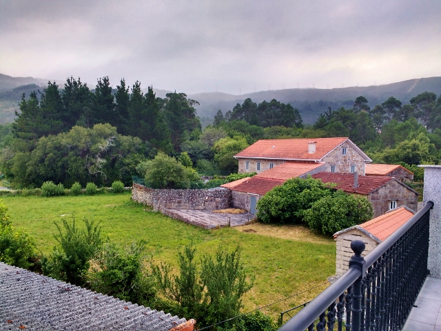 Galicia view from back terrace