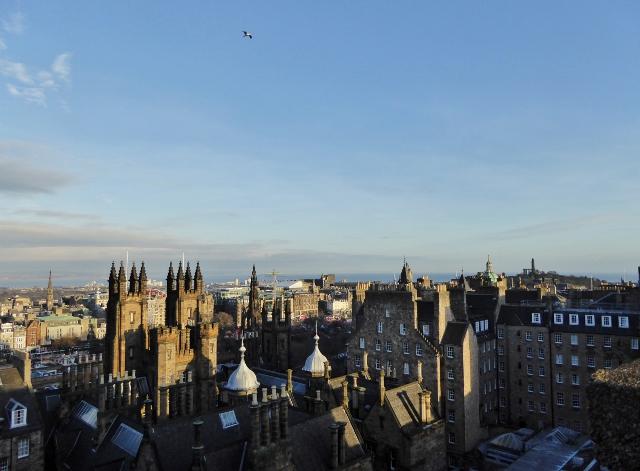 Views of Edinburgh from Camera Obscura