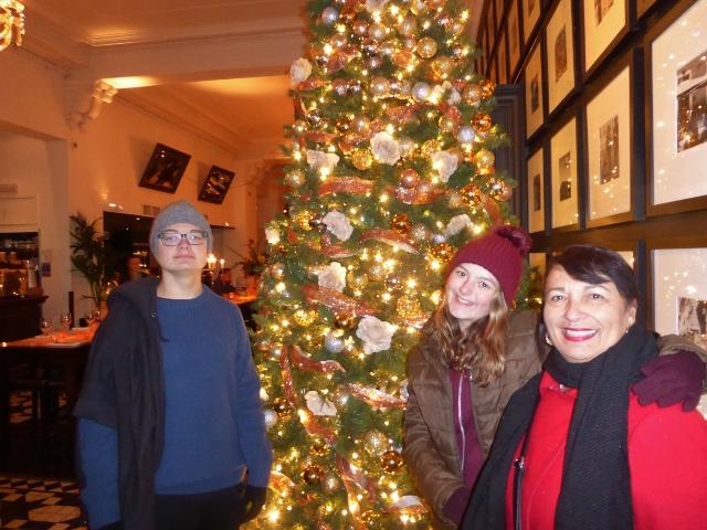 Dinner at Gusto Edinburgh Christmas