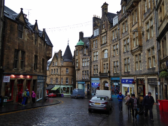 Edinburgh shopping day From the Royal Mile to Princes Street
