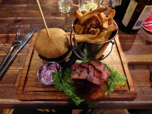 Edinburgh awesome burgers at No. 8