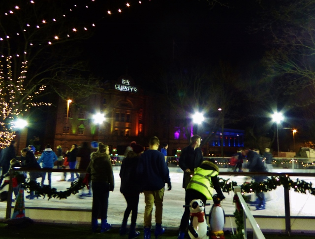Ice Skating in Aberdeen New Year's Eve