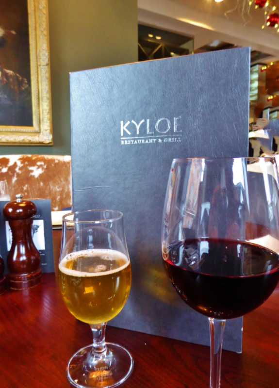 Kyloe Restaurant & Grill, a great steakhouse in Edinburgh. Read our full review on WagonersAbroad.com
