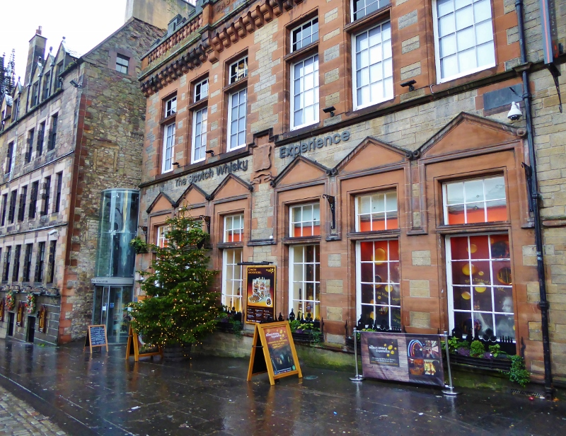 The Scotch Whisky Experience Edinburgh Christmas