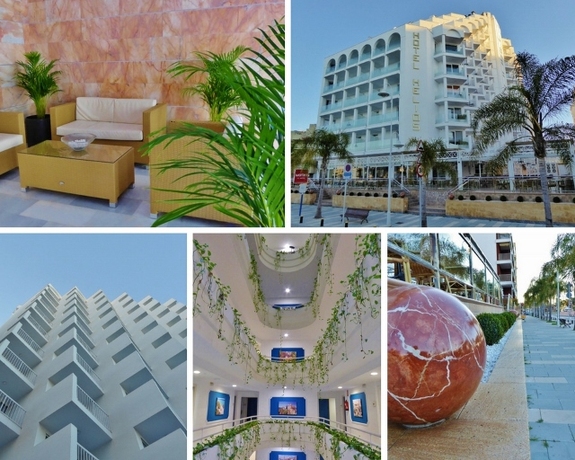 Hotel Helios Almuñécar exterior collage