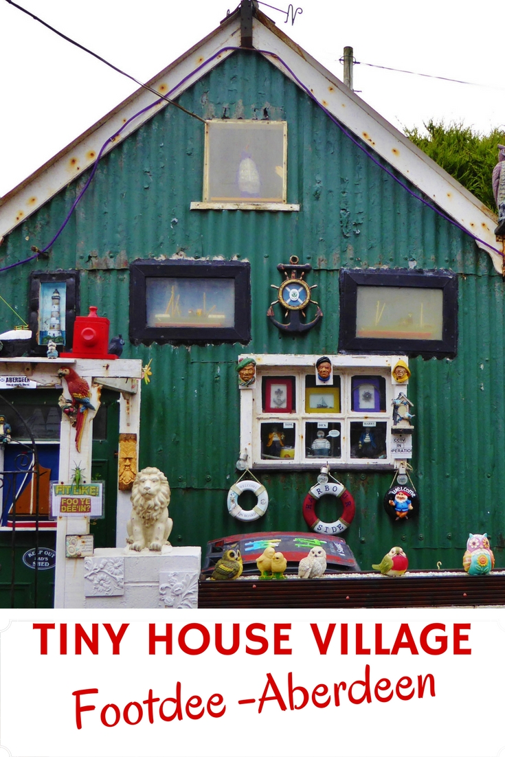 One Of The Best Tiny House Villages! Footdee Aberdeen is full of charm and history. Read more on WagonersAbroad.com